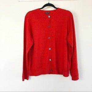 Eileen Fisher 100% Merino Wool Cardigan Size XL